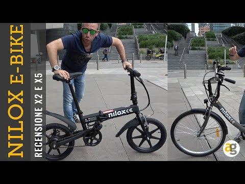 Recensione Bici Elettriche Nilox X5 E X2 Youtube