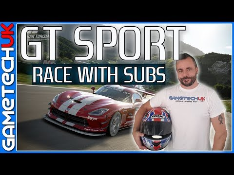 Gran Turismo Sport -- Race with Subs night -- Logitech G29 + Racing Rig