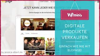 Digitale Produkte verkaufen - Einfacher geht´s nicht! Elopage vorgestellt
