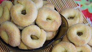 Сахарное печенье на минеральной воде Простой рецепт