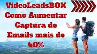 Como Aumentar Captura de Emails com plugin VideoLeadBox