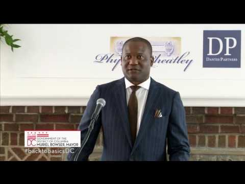 Mayor Bowser Celebrates Renovation of Historic Phyllis Wheatley YWCA, 6/23/17