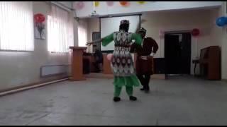 VENKAT And Hurdhaya Dance Performance  On Uzbek Song Nowruz Celebration 🎉