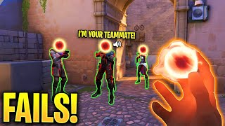 Valorant: When PRO PLAYERS Have 5IQ.. - Extreme Fails & 5IQ Plays - Valorant Highlights Montage