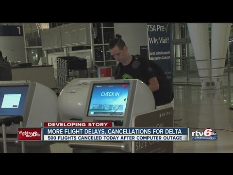 More flight delays, cancellations for Delta