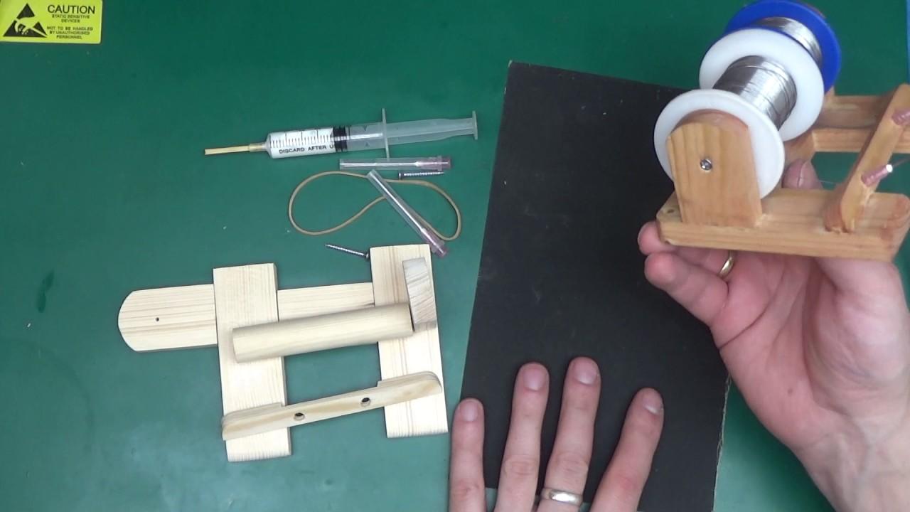 DIY solder spool holder kit for sale! - YouTube