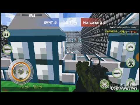 Combat Pixel Arena 3D Oynuyoruz!!!😄 Bölüm 1
