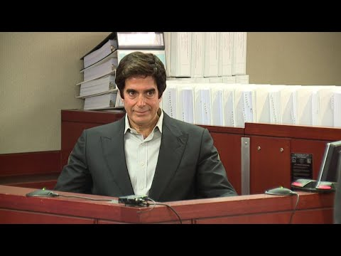 Legendary Magician David Copperfield Reveals His Secrets in Court