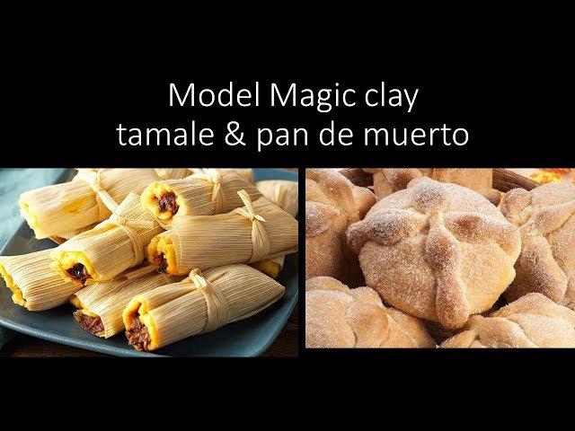 Model Magic Food for Dia de los Muertos YouTube