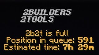 What It's like Starting out on 2b2t