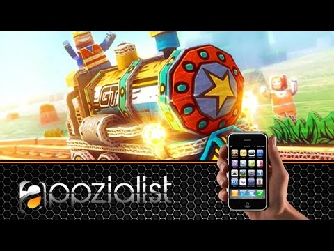 Paper Train: Rush - Android IOS iPad iPhone App (By Istom Games Kft.) Gameplay [HD+] #01 Lets Play