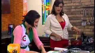 Rollitos De Fiesta / Queso Crema - Cheddar Y Espinaca Dos Pinos / Buendía 27-6-13