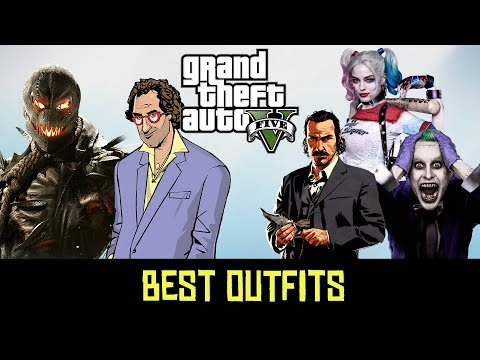 GTA 5 Online - Outfits (Top 15 BEST OUTFITS EVER)