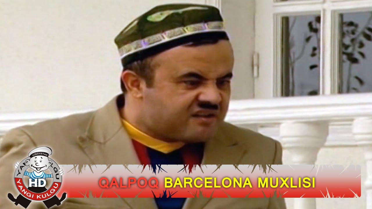Qalpoq - Barcelona muxlisi | Калпок - Барселона мухлиси (hajviy ko'rsatuv)