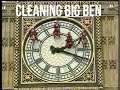 Cleaning Big Ben's clock face