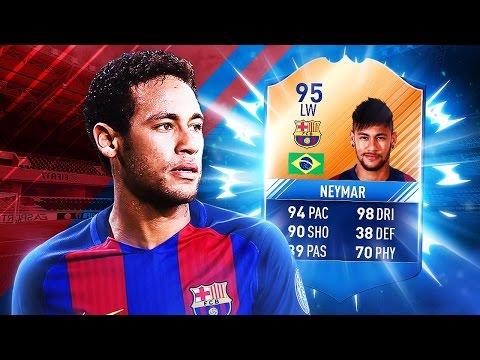 FIFA 17 - GENIALNY NEYMAR MOTM!