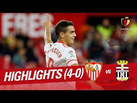 Resumen de Sevilla FC vs FC Cartagena (4-0)