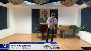 Victor Didur – Etude Ferling 13