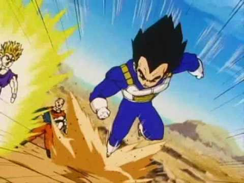 Vegeta Tribute   Breaking The Habit