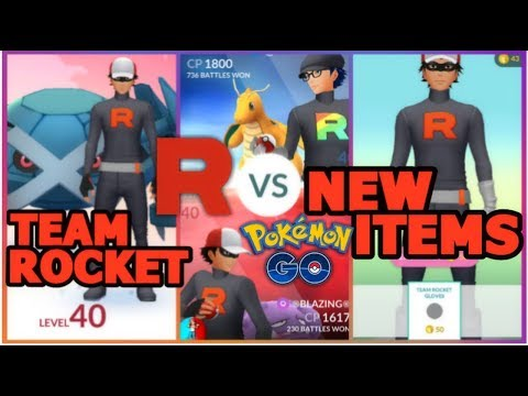 TEAM ROCKET HAS ARRIVED IN POKEMON GO  NEW TEAM ROCKET CLOTHING + GYM BATTLES