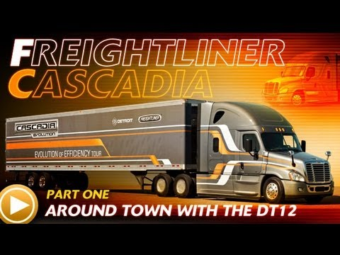 Detroit Diesel DT12 Test Drive: Pt.1 - Around Town with the DT12