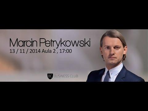 KBC Career Meetings : Marcin Petrykowski