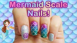 Mermaid Scale Nail Art Tutorial