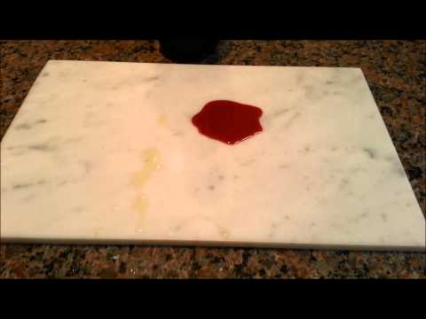SDS Stone Coat to protect marble counter tops.