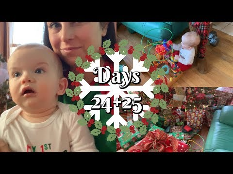 BABY'S FIRST CHRISTMAS // DAYS 24-25 VLOGMAS 2018