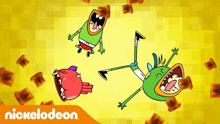 🔴 Смотрите в прямом эфире: Хлебоутки | Покорители Хлеба | Nickelodeon Россия