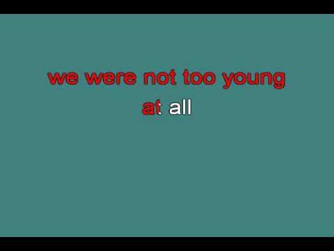 TOO YOUNG 714888 [karaoke]