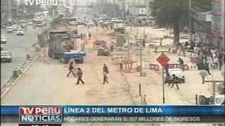 Línea 2 del Metro de Lima generaría negocios por 357 millones de soles