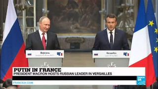 REPLAY - Watch French President Macron and Russian Leader Putin