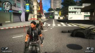 Just Cause 2 - One of the Biggest Explosions Ever