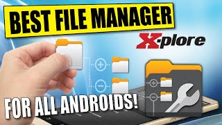 HOW TO USE X PLORE FILE MANAGER ON ANDROID & AMAZON FIRESTICK DEVICES screenshot 2
