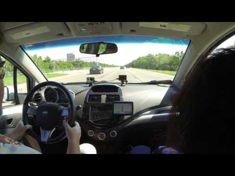 New Orleans to Old Spanish Trail, Slidel, Louisiana, I-610 to I-10 East, 1 August 2016 GP012181