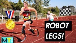 NO LEGS OLYMPICS *Average People Racing Olympians*