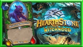 Witchwood Card Reveal: Hunting Mastiff