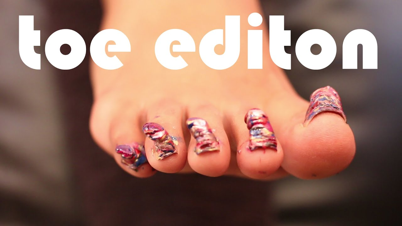 100+ Coats of Nail Polish | Toe Edition | #POLISHMOUNTAIN - YouTube
