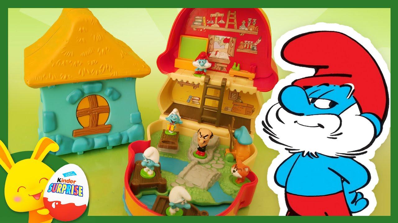 Schtroumpf jouets pour enfants titounis youtube - Schtroumpf maison ...