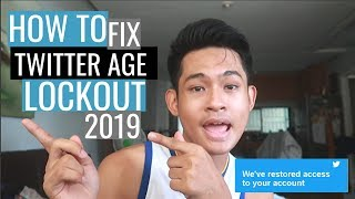 HOW TO FIX TWITTER AGE LOCKOUT 2020/2021 | Guaranteed Solution #howtofixtwitteragelockout #twitter