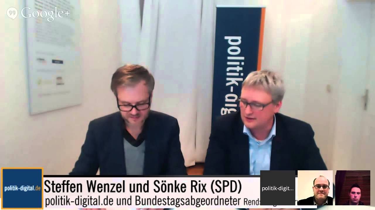 Digitale Bürgersprechstunde mit Sönke Rix (SPD) - YouTube