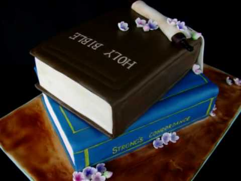 How To Make A Closed Book Cake With Fondant