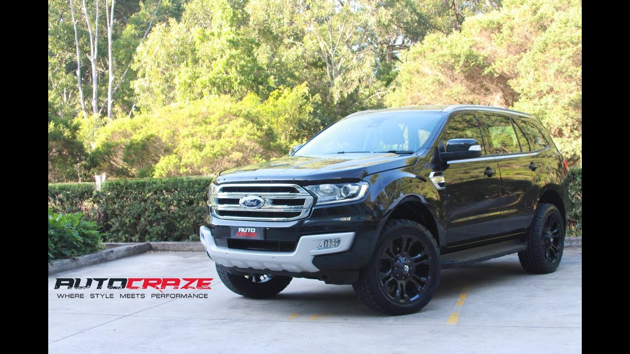 Ford Ranger Tuning >> Ford Everest Wheels - Fuel Vapor Rims | AutoCraze - YouTube