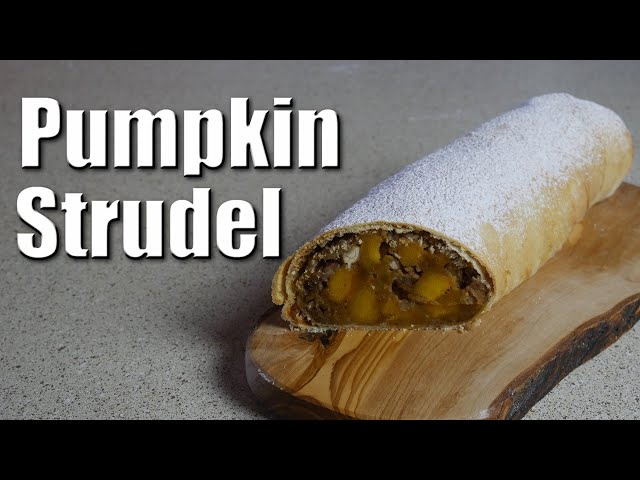 Pumpkin Strudel | Baking With ChefJohnReed