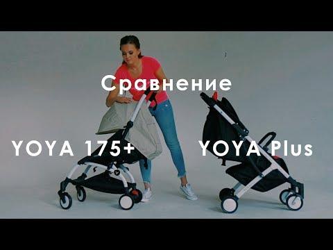 Сравнение коляски YOYA 175 + и YOYA Plus. Как не быть обманутым на популярности известного бренда.