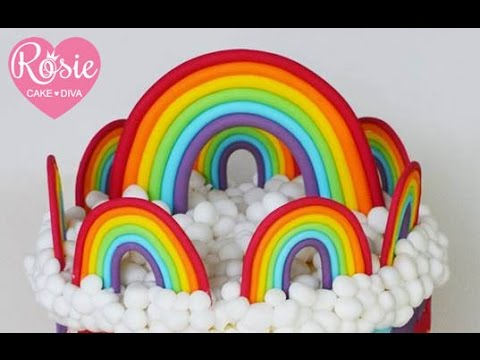 Fondant Rainbow Tutorial