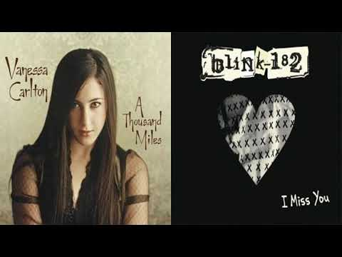 Blink-182 - I Miss You But It's A Thousand Miles By Vanessa Carlton