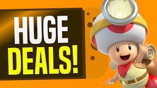 BIG Nintendo Switch Games Sale MANY LOWEST PRICE EVER!! (Nintendo eShop