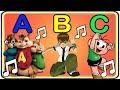 MÚSICA DO ALFABETO só com PERSONAGENS INFANTIS (ABC dos DESENHOS)
